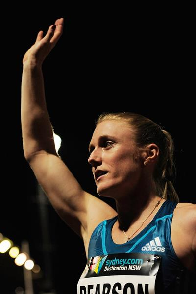 Sally Pearson at the 2014 Sydney Track Classic (Getty Images)