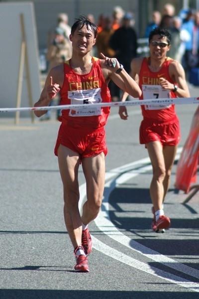 Zhen Wang (China) winning in Lugano (Lorenzo Sampaolo)