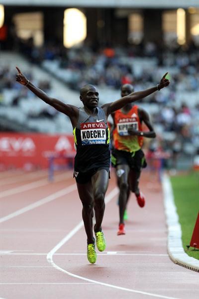 Paul Kipsiele Koech takes 8:00.57 victory in Paris (Jean-Pierre Durand)