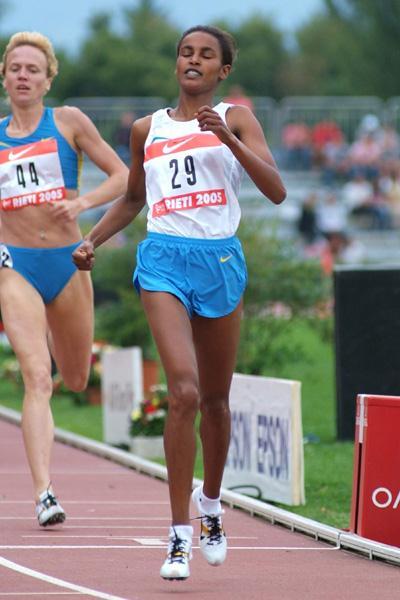 Maryam Jamal Yussuf victorious at the Rieti Grand Prix (Lorenzo Sampaolo)