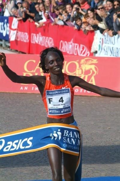 Anne Kosgei wins in Venice (Lorenzo Sampaolo)