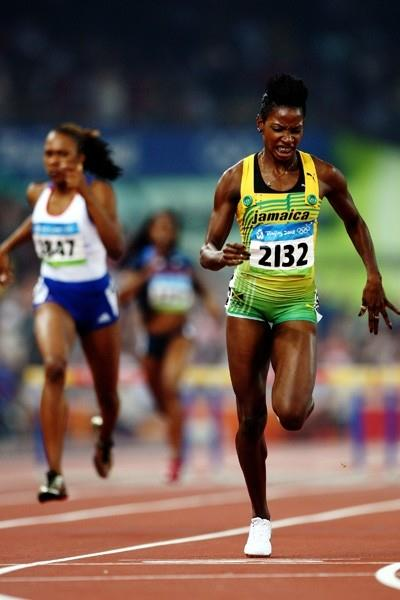 Melaine Walker produces the fourth-fastest clocking of all time to win the Olympic 400m hurdles title (Getty Images)