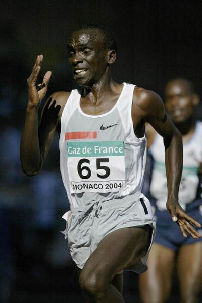 Eliud Kipchoge of Kenya wins the 3000m at the World Athletics Final (Getty Images)
