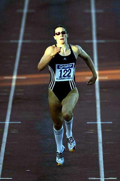 Jana Pittman running in Perth, Australia (Getty Images)
