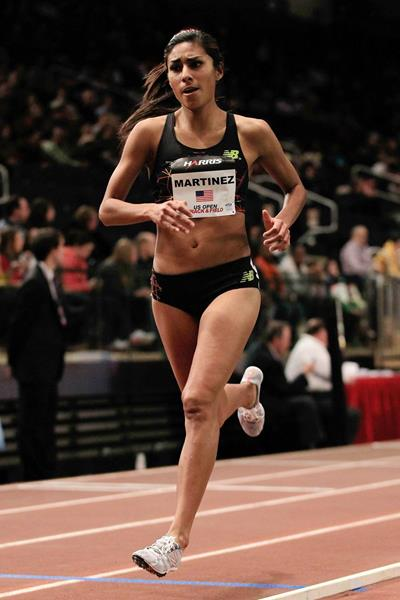 US middle-distance runner Brenda Martinez (Getty Images)