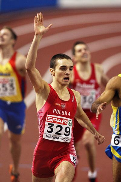 Polan's Marek Plawgo (Getty Images)