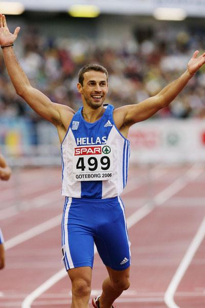 Greek gold for Periklis Iakovakis in Gotheburg (Getty Images)