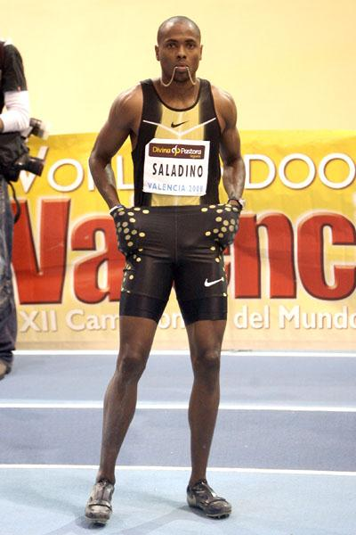 Irving Saladino leaps to 8.20m in Valencia permit meeting (Julio Fontán)