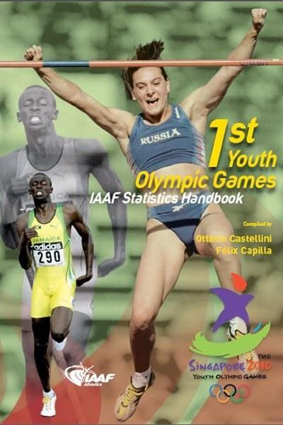 Youth Olympic Games 2010, Singapore - Front cover of Statistics Book (IAAF.org)