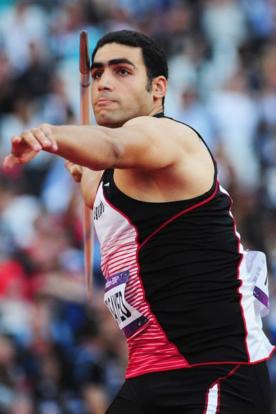 Egyptian javelin thrower Ihab Abdelrahman El Sayed (Getty Images)