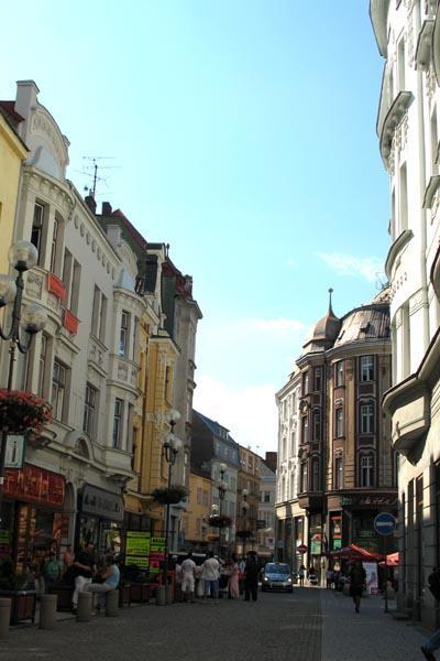 Soldoni Street - the heart of Ostrava (Bob Ramsak)
