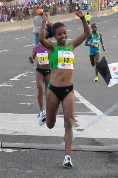 Memorable 10Km debut for Sentayehu Ejigu in San Juan (Organisers)