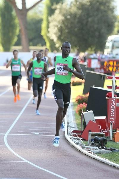 Rudisha crosses in World record of 1:41.01 in Rieti (Victah Sailer)