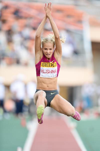 Darya Klishina leaps 6.88m to win in Tokyo (Getty Images)