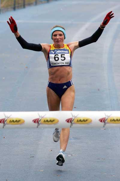 Constantina Tomescu wins World Half Marathon in Edmonton (Getty Images)