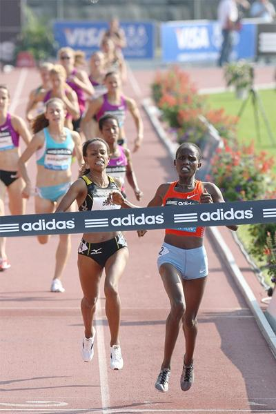Another impressive race for Nancy Langat, this time in New York (Victah Sailer)