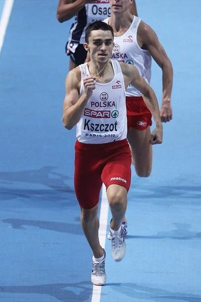 Convincing 800m victory for Adam Kszczot in Paris (Getty Images)