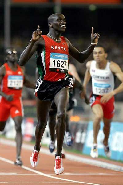 Kenya's Alex Kipchirchir - 800m gold - Melbourne (Getty Images)