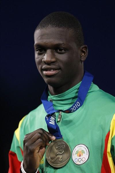 400m champion Kirani James wins Grenada's first ever gold medal at the IAAF World Junior Championships (Getty Images)