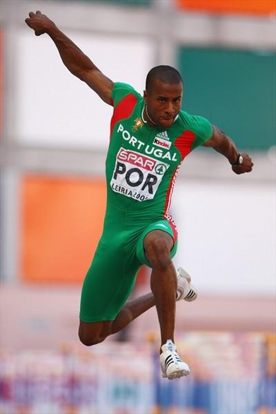 17.59m leap for Nelson Evora in Leiria (Getty Images)