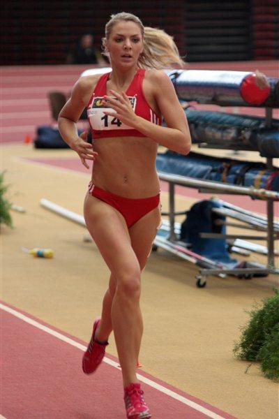 Austrian heptathlete Ivona Dadic (ÖLV / Katzenbeisser)
