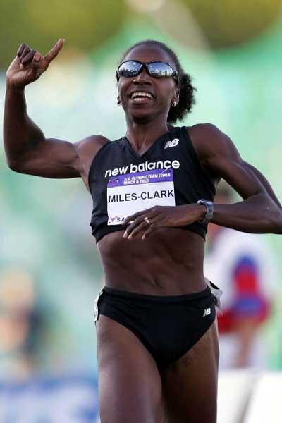 Jearl Miles Clark wins the women's 800m - US Trials (Getty Images)