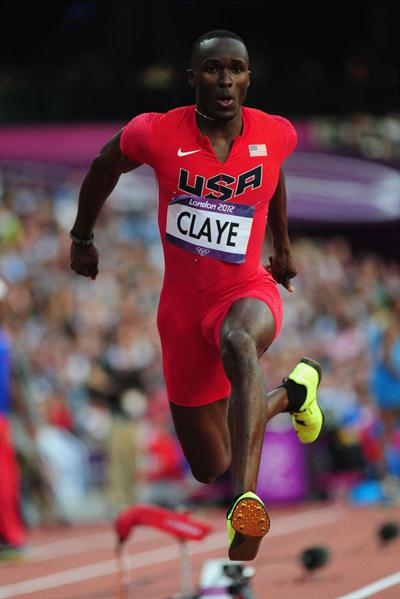Will Claye of the United States competes during the Men's Triple Jump Final of the London 2012 Olympic Games  August 9, 2012 (Getty Images)