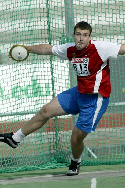 Nikolay Sedyuk (RUS) in Hengelo (Mark Shearman)