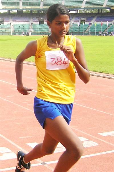 G. Gayathri of Tamil Nadu (SportyIndia.com)