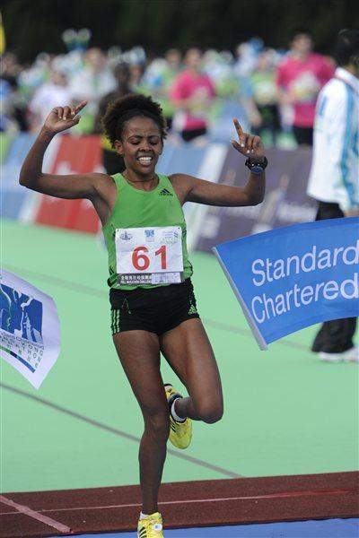 2:30:12 course record for Misikir Mekonnen in Hong Kong (Organisers)