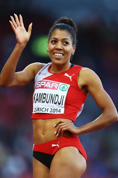 Swiss sprinter Mujinga Kambundji (Getty Images)