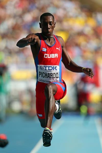 Cuba's Pedro Pablo Pichardo in the triple jump final (Getty Images)