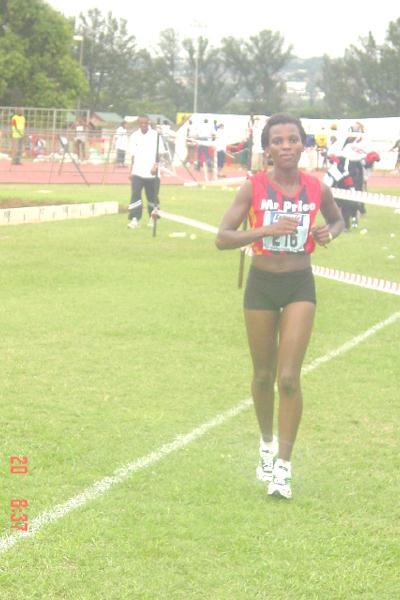 Dimakatso Morobi wins the South African marathon champs (Mark Ouma)