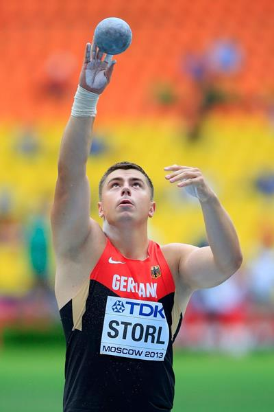 David Storl at the IAAF World Championships Moscow 2013 (Getty Images)