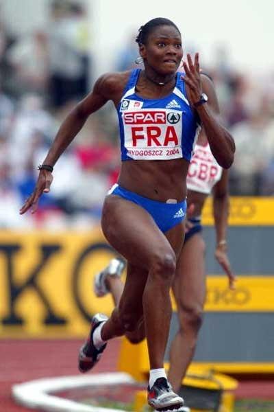 Muriel Hurtis takes women's 200m - European Cup (Getty Images)