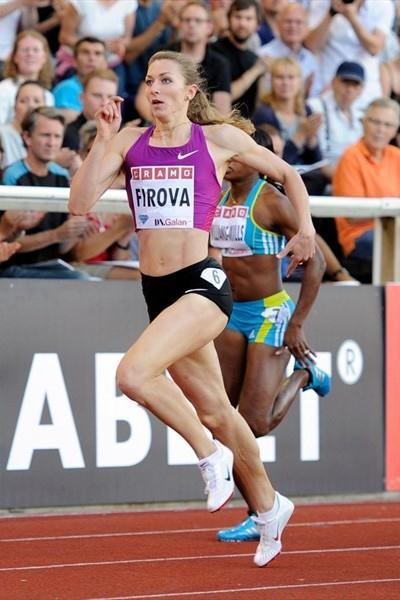 Stockholm 400m winner Tatyana Firova (DECA Text&Bild)