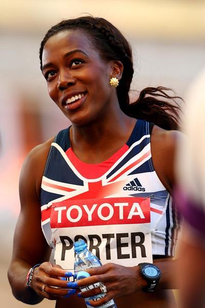 British sprint hurdler Tiffany Porter (Getty Images)