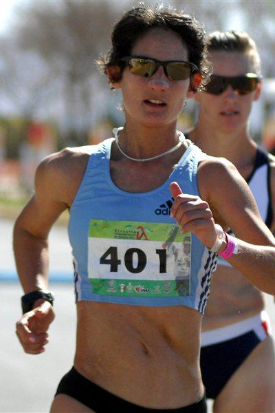Inês Henriques on the way to her 2011 victory in Chihuahua (Chihuahua organisers)