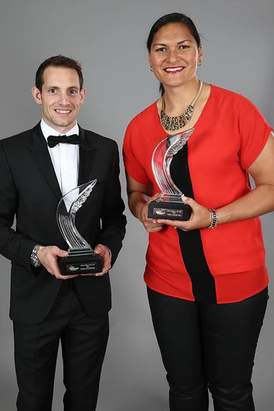 2014 World Athletes of the Year Renaud Lavillenie and ...