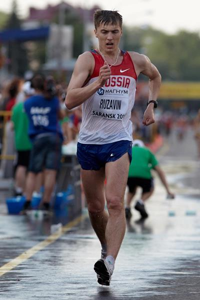 Andrey Ruzavin at the 2012 World Race Walking Cup in Saransk (Getty Images)