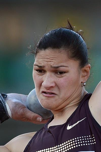 Valerie Adams in action in the Shot (Getty Images)