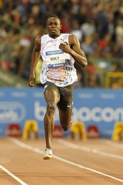 Bolt runs to fastest 100m of 2011 (Gladys Chai van der Laage)