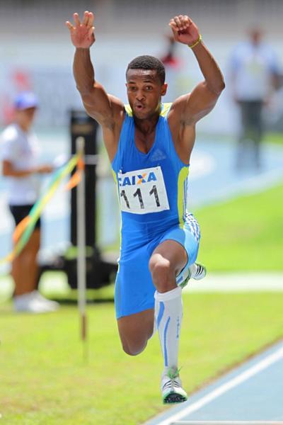 Ernesto Reve at the the 2013 Grande Premio Brasil/Caixa Governo de Para de Atletismo meeting in Belem (Wagner Carmo/CBAt)