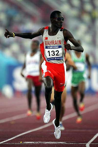 Youssef Saad Kamel wins the 800m at the Asian Games (Getty Images)