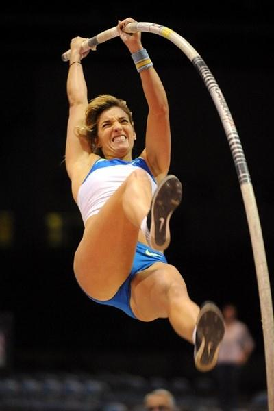 Chelsea Johnson opens 2009 with a victory in Reno (Kirby Lee)