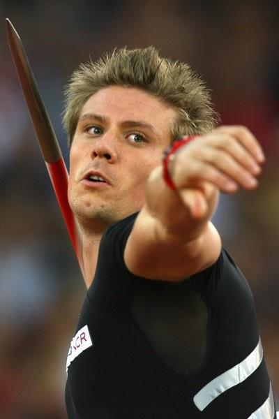 Andreas Thorkildsen breaks the 90-metre mark again in the javelin (Getty Images)