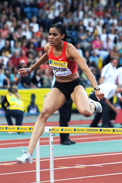 Kaliese Spencer burst into the all-time top-10 with her sensation 52.79 in London (Mark Shearman)