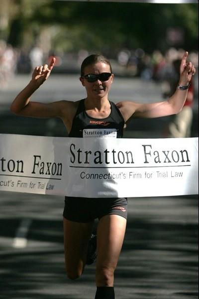 Magdalena Lewy Boulet takes the US 20Km title in New Haven (John Nepolitan (ESPNRise.com))