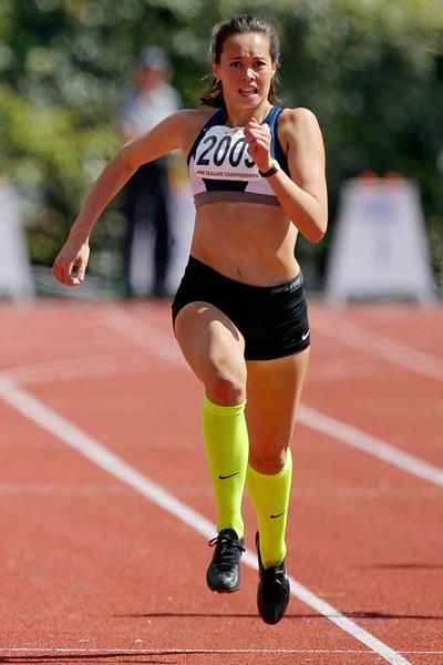 Heptathlete Portia Bing from New Zealand (Getty Images)