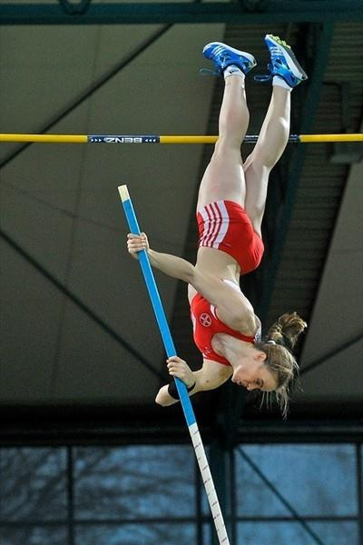 Silke Spiegelburg improves the German record to 4.76m in Karlsruhe (KMK)